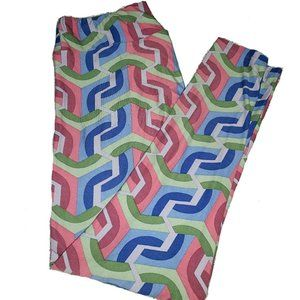 NEW LuLaRoe TC Pastel Multicolor Stripe Leggings